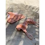 Conjunto Meia Taça + Hot Pant Ouro Rosa