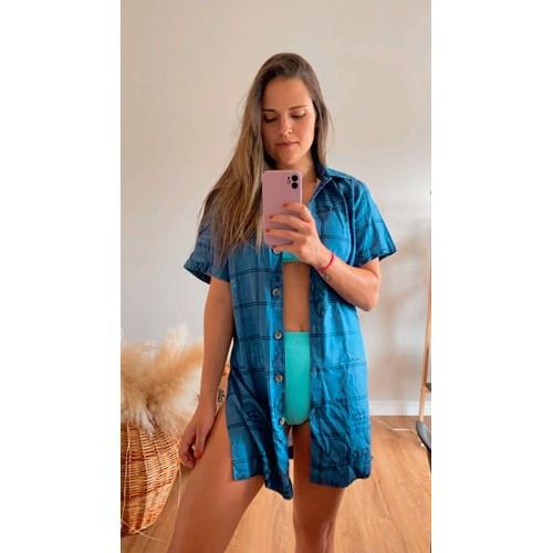 Camisa Signos Água Azul Índigo