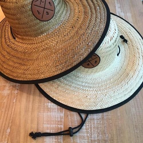 Chapéu de Palha Outlander Floral Azul