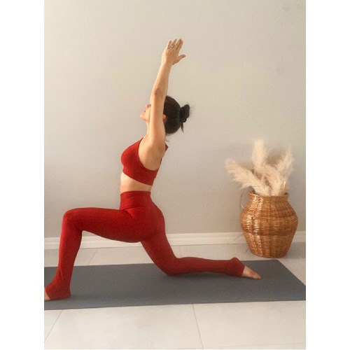 Conjunto Asana Yoga Cristal Terracota