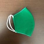 Máscara de algodão Verde Bandeira