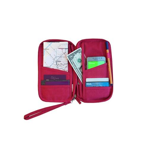 (Último) - Súper Útil - Porta Passaporte Rosa